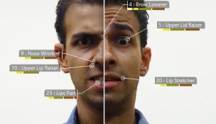 7 Emoções Básicas Universais - Expressão Facial da Emoção - Figura 1 - Freitas-Magalhães, A. & Ferreira, C. (2017). F-M FACS 2.0: Human Faces (F-MF2.0-HF). Porto: Facial Emotion Expression Lab.