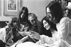 Rosemary Leary, Timothy Leary, Yoko Ono and John Lennon
