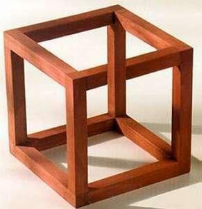 cubo-de-necker - psicologia da gestalt - psicologia da forma
