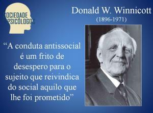 tendência antissocial winnicott
