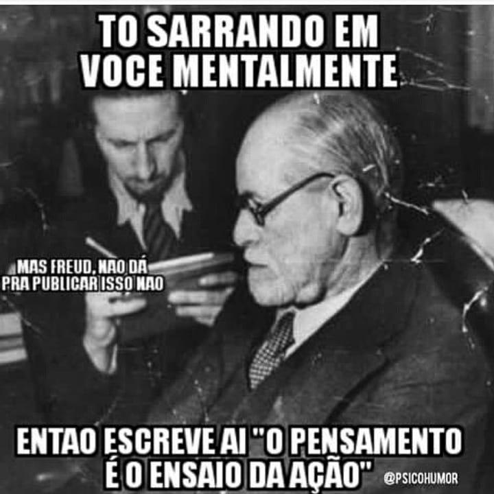 Freud pensamento ensaio