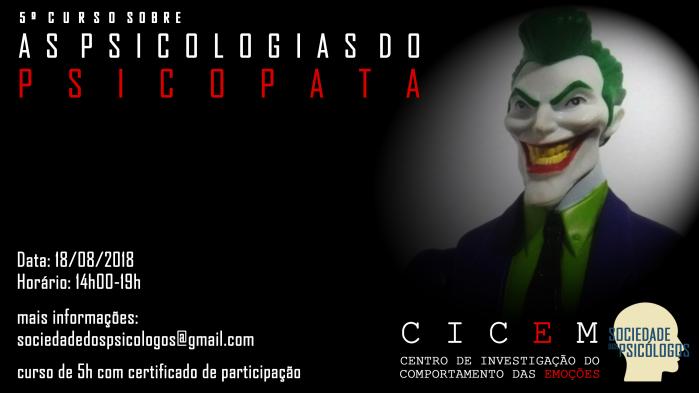 curso psicopatia psicologia forense
