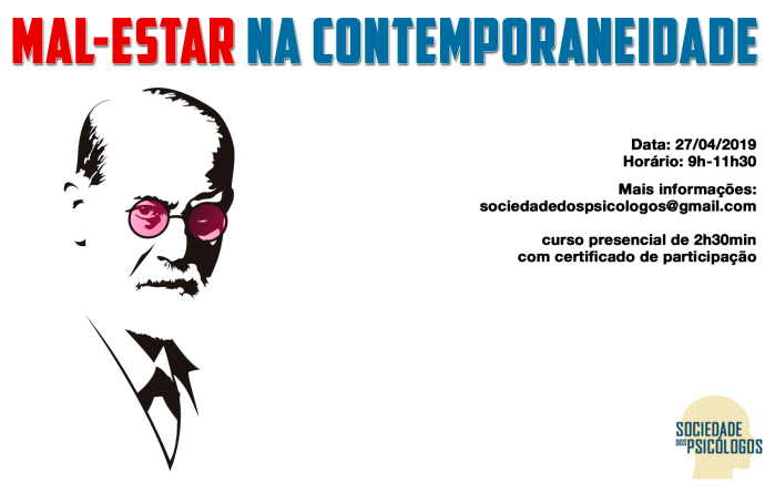 Curso Mal estar no contemporâneo freud psicanálise