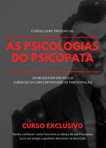 curso serial killer psicopatia sociopatia