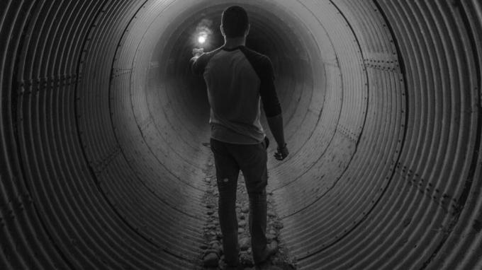 hole depression