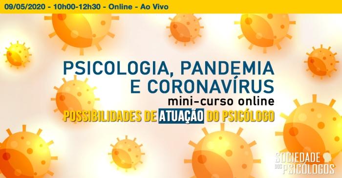 atuação do psicólogo coronavírus covid-19 pandemia