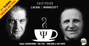 Café Psico - Lacan Winnicott curso psicanálise ONLINE