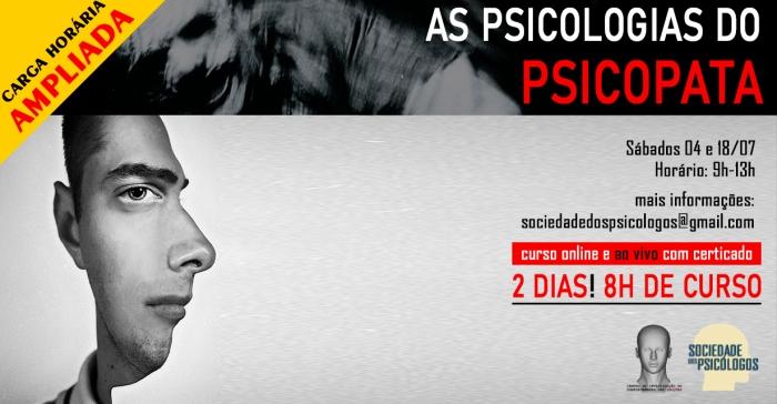 curso psicopatas serial killer psicologia