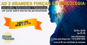 curso teorias da personalidade psicanálise behaviorismo humanismo